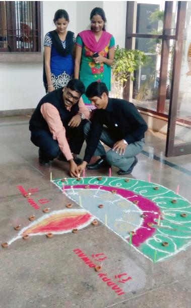 Depawali fesival Celebration